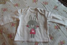 Bavlněné tričko s králíčkem, cherokee,56