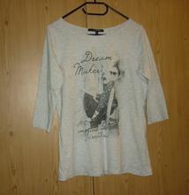 Šedé dámské tričko reserved, reserved,m