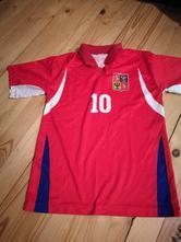 Fotbalový dres chlapecký, 140