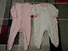 Overal-pyžamo 1x zn.f & f froté+1xbavl. vel.74, f&f,74