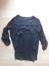 Slusiva cerná damska bluzka 3/4 rukav, stradivarius,s