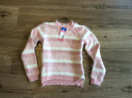 Prekrasný pulovr pro vasi princeznu vel. 122, pepco,122