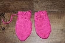 Pletené rukavičky , 80