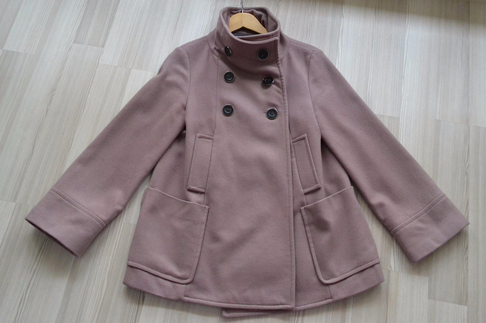 f23ba6cfc5 Těhotenský kabát zara