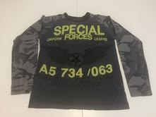 Bavlněné tričko s potiskem dl. r., matalan,158