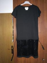 Černé dívčí šaty, reserved,152