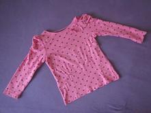 tričko dlouhý rukáv palomino, srdíčko,104, c&a,104