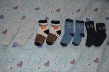 5x ponožky 27-30, lupilu,27