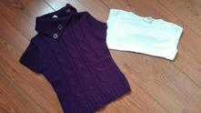 Svetřík+tričko, palomino,122