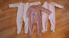 3x overal na spaní, mothercare,80