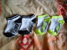 Sportovní ponožky - kotníčkové, vel. 4-6 let, 28