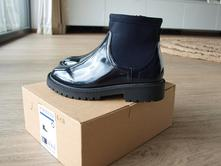 Nové lakované kotníkové boty zara, zara,30
