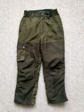 Zateplené kalhoty, 128