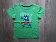 Tričko triko s příšerou vel. 110 /116 , dopodopo,116