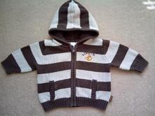 Dětský pletený svetr s tygrem, h&m,68