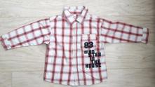 Košile károvaná, vel.86, 86