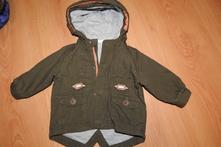 Podzimní bunda vel 3 měsíce, f&f,62