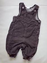 Bavlnou podšité manžestrové lacláčky zn.h&m, h&m,62