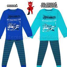 Pěkné bavlněné pyžamo wolf s autem, 116-146, wolf,116 - 146