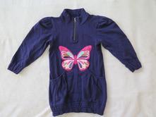 Mikina - šaty, name it,116