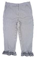 Černo bílé kalhoty s regulací, next,140