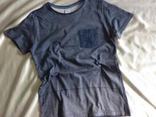 Vel. 152 modré pyžamové triko, 152