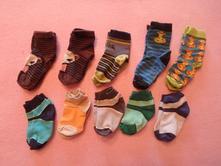 10x ponožky, délka chodidla cca 10cm,