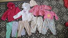 Balík oblečení na holčičku vel. 62 - 74,
