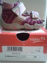 Sandály superfit dívčí vel. 20 pc 940 kč, superfit,20