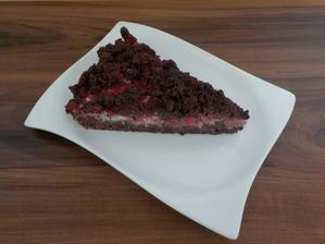 Kakaový drobenkový koláč (z žitné a špaldové mouky)