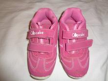 Pěkné růžové botasky - kožené, 27