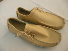Luxusní kožené boty mokasíny vel 42/43 stél 28,3cm, 42 / 43