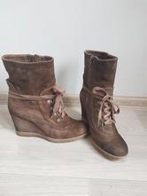 Dámské kotníčkové kožené boty, baťa,39