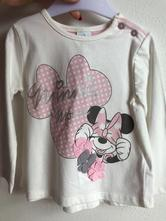 Minnie tričko s dlouhým rukávem, disney,80