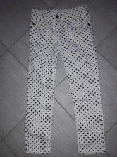 Puntíkaté kalhoty s regulací, primark,116