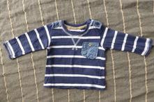 Frajerské pruhované tričko zn. early days s kapsou, early days,56