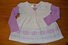 Dívčí šatičkové tričko, oshkosh,92