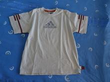 Bavlněné tričko adidas, adidas,140