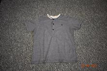 Chlapecké šedé melírované triko next, vel.134, next,134