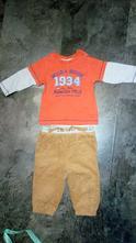 Teplejší kalhoty + tričko, cherokee,74