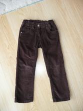Dívčí manšestrové kalhoty vel.104, palomino,104