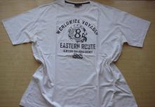 Bílé tričko vel. xxl - 3xl, xxl