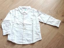 Bílá dětská košile zn. tex, vel. cca 80, texbasic,80