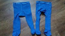 2x stejné modré punčochy, 56