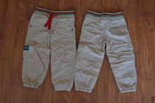 Plátěné kalhoty minoti podšité bavlnou, minoti,92
