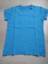 Modré tričko next s kapsičkou, next,140