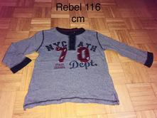 Tričko 116 cm, rebel,116
