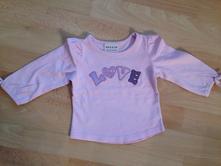 Next dětské tričko s dlouhým rukávem, vel. 62, next,62
