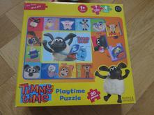 Nepoužitý puzzle ovečka timmy ,
