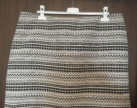 Luxusní teplejší sukně, xl